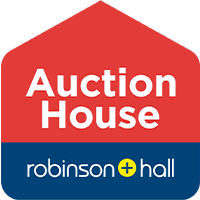 Auction House Robinson & Hall Logo